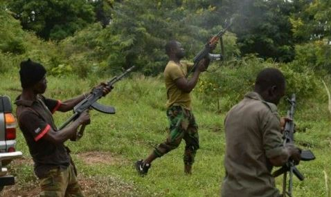 BREAKING: Tension As Gunmen Attacked Top Nigerian Politicians At Funeral, Shot Some, Kidnapped Others